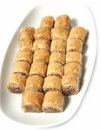 Baklava dessert Stock Photography