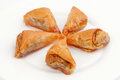 Baklava flower Stock Image