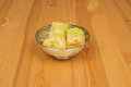 Baklava with pistachio. turkish traditional delight on a wood background. Royalty Free Stock Photo