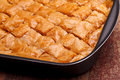 Baklava In Tray Stock Photos