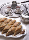 Baklava turkish deserowy ramadan Obraz Royalty Free