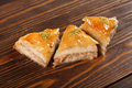 Baklava turkish and iran sweets Royalty Free Stock Photo