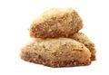 Baklava turque de dessert Image libre de droits