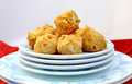 Baklawa assorted and special sweet dipped in sugar syrup Royalty Free Stock Images