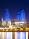 Baku Azerbaijan at Caspian sea- Royalty Free Stock Photo