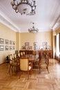 Baku azerbaijan june room in the villa petrolea interior of main Stock Photo