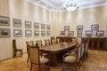 Baku azerbaijan june room in the villa petrolea interior of main Stock Image