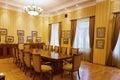 Baku azerbaijan june room in the villa petrolea interior of main Royalty Free Stock Images