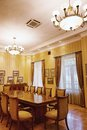 Baku azerbaijan june room in the villa petrolea interior of main Royalty Free Stock Image
