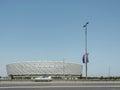 Baku de maio de baku olympic stadium em maio Foto de Stock Royalty Free