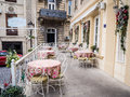 Baku one of the restaurants in the icheri sheher old town of azerbaijan icheri sheher is a unesco world heritage site since Stock Image