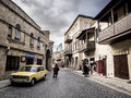 Baku one of the small streets of icheri sheher old town of azerbaijan icheri sheher is a unesco world heritage site since Royalty Free Stock Photo