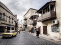 Baku one of the small streets of icheri sheher old town of azerbaijan icheri sheher is a unesco world heritage site since Stock Image