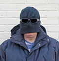 Balaclava disguise man