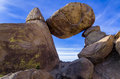 Balanced Rock Formation Royalty Free Stock Photo