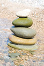 Balanced stones Royalty Free Stock Photography