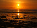 Balangan Sunset Royalty Free Stock Photos
