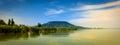 Balaton Lake and a Hill