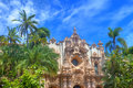 Balboa park san diego view of the the casa del prado in in Royalty Free Stock Photos
