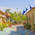 Balboa Park Spanish Village, California Royalty Free Stock Photo