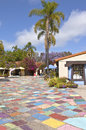 Balboa Park Spanish Village San Diego California. Royalty Free Stock Photo