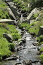 Balbonne stream in Pyrenees Royalty Free Stock Images