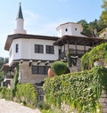 Balchik Palace and Botanical garden Royalty Free Stock Photography