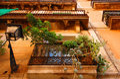 Balconies in Barcelona Stock Photography