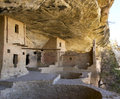 Balcony house in mesa verde national park kivas the dwelling at Stock Image