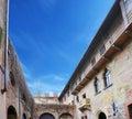The balcony of Juliet`s house in Verona Royalty Free Stock Photo