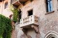 Balcony of the Juliet's House, Verona, Italy. Royalty Free Stock Photo