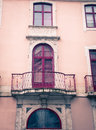 Balcony Lisbon Portugal Royalty Free Stock Photo