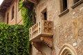 Balcony of love romeo and juliet Stock Image