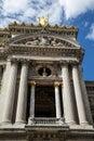 Balcony at the Paris Opera Royalty Free Stock Photo