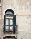 Balcony venice Royalty Free Stock Photo