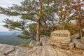Bald Rock Overlook Royalty Free Stock Photo