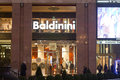 Baldinini shop in the quadrilatero doro rectangle of gold fashion district in milan italy Stock Images