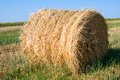 Bale of straw Royalty Free Stock Image