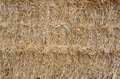 Bale of straw fragment a Royalty Free Stock Image