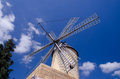 Balearic windmill a classic against a blue sky Royalty Free Stock Photography