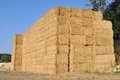 Bales stacked on each other Royalty Free Stock Photos
