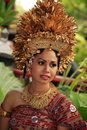 Bali bride Royalty Free Stock Photo