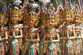Bali carvings Royalty Free Stock Photos
