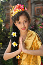 Bali Dancer Girl Royalty Free Stock Photo