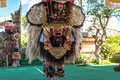 BALI, INDONESIA - MAY 5, 2017: Barong dance on Bali, Indonesia. Barong is a religious dance in Bali based on the great