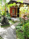 Bali Resort Patio Garden