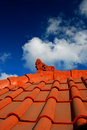 Bali's roof architecture Royalty Free Stock Photography