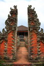 Bali Temple Entrance Royalty Free Stock Photo