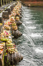 Bali temple holy spring water in pura tirtha empul in indonesia one of s most important temples indonesia Stock Photos