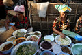 Bali Ubud market Royalty Free Stock Images
